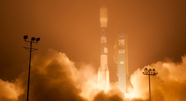 OCO-2 Lift Off